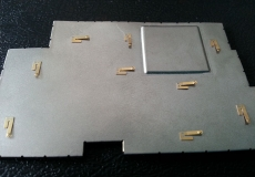 屏蔽罩上铜弹片激光点焊