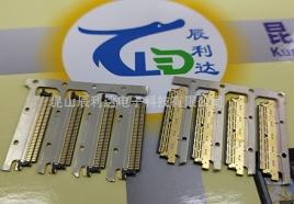 精密连接器料带式注塑产品